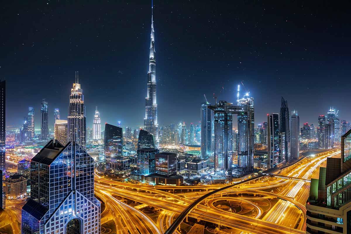 Burj Khalifa<br >ブルジュ・ハリファー展望台