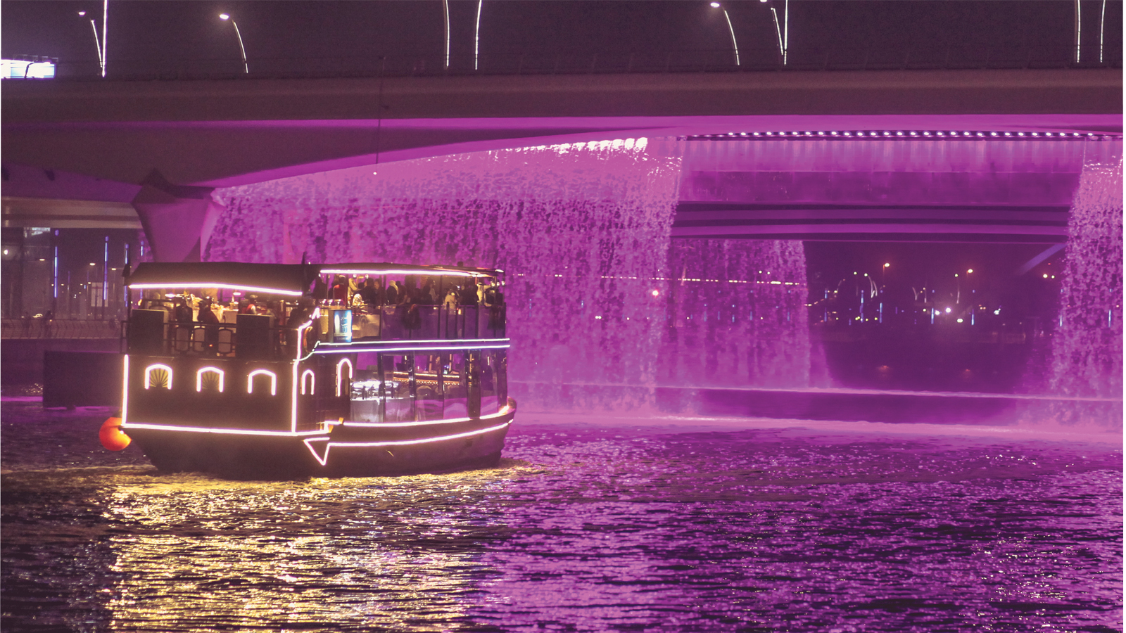 Dubai Water Canal Dinner Cruise