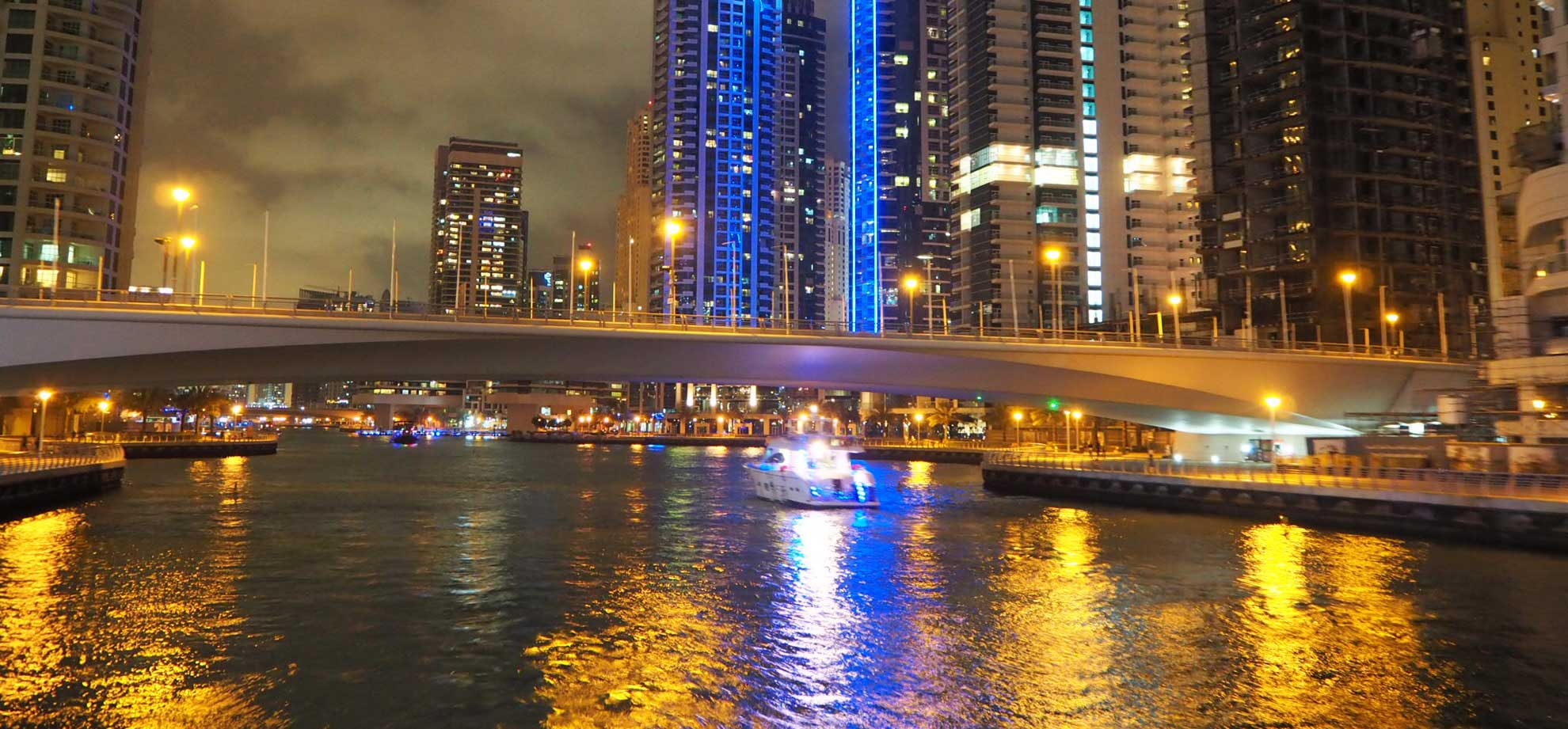 Dubai Water Canal Dinner Cruise1