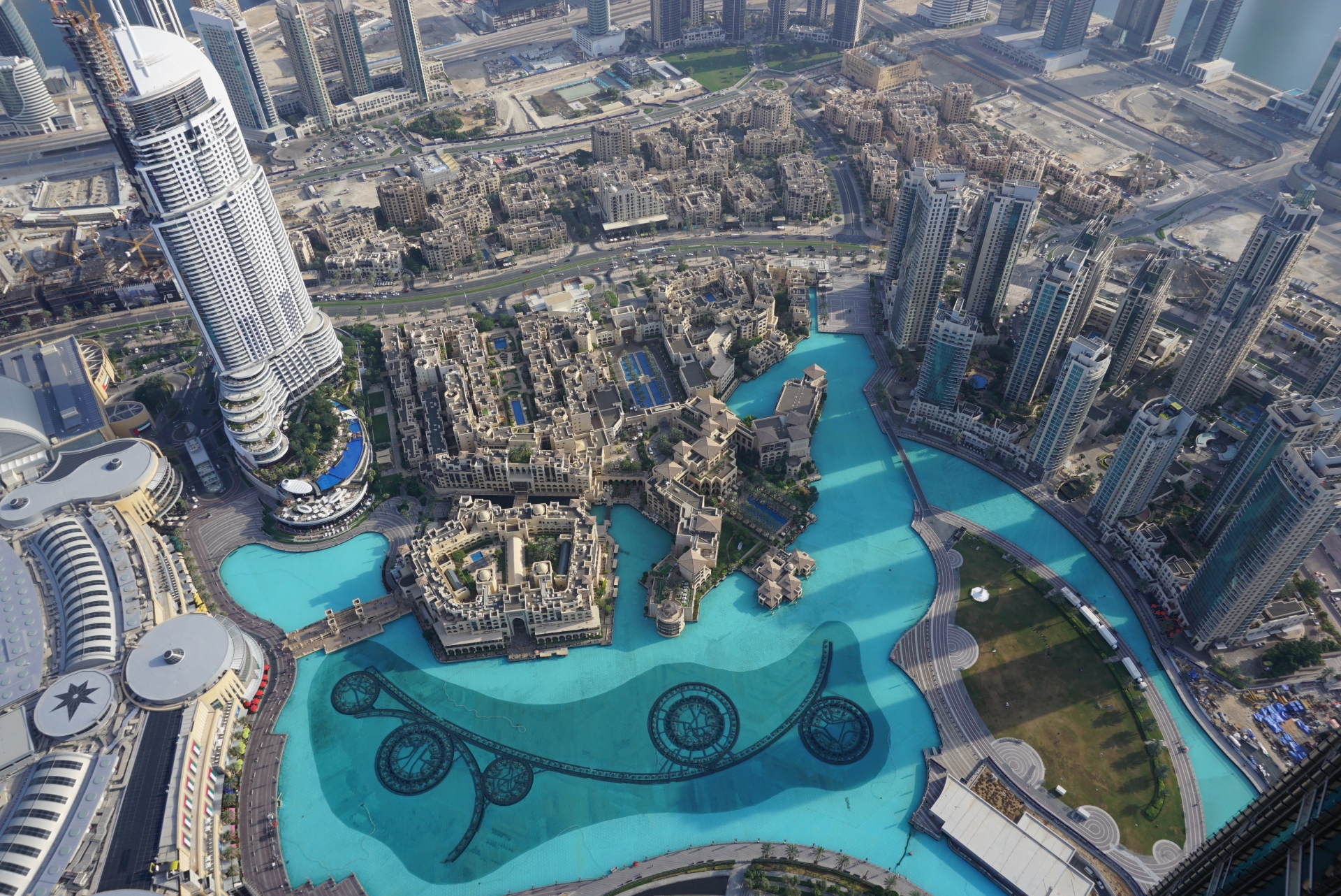 Transit tour with Burj Khalifa's ticket